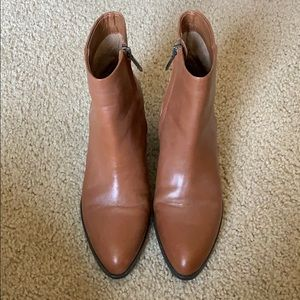 Sam Edelman brown booties boots